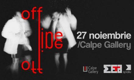 Offline – expoziția rezidenței META Spațiu la Calpe Gallery, Timișoara