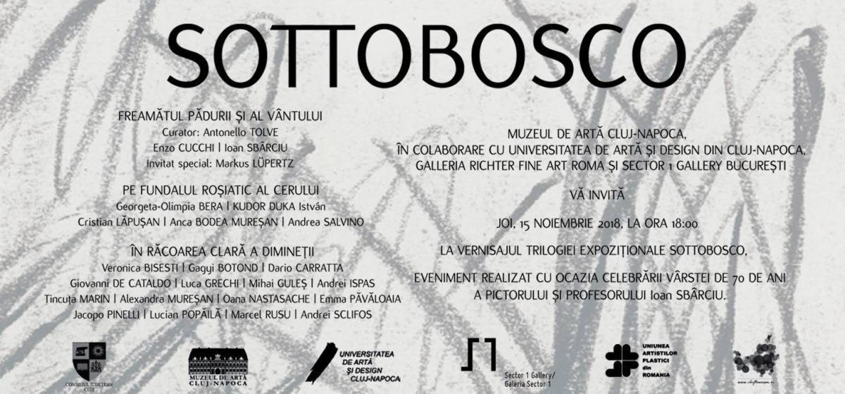 SOTTOBOSCO. Pictură @ Muzeul de Arta Cluj-Napoca