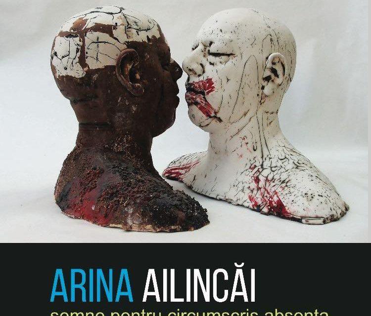 """Arina Ailincăi – """"Semne pentru circumscris absenta"""" @ Muzeul Literaturii Romane"""