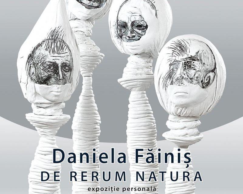 """Expoziție personală Daniela Făiniș """"De rerum natura"""" @ Galeria de Artă SENSO București"""