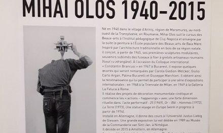Expoziţie Mihai Olos, în atelierul lui Brâncuşi de la Paris