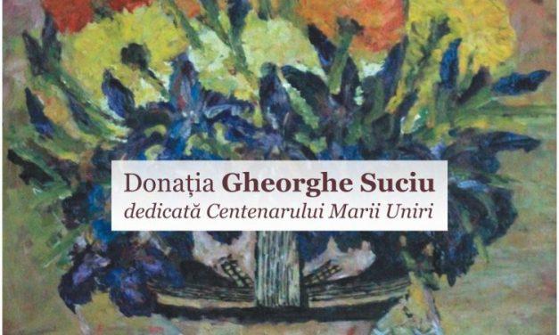"""Expoziția """"Donația Gheorghe Suciu dedicată Centenarului Marii Uniri"""" @ Muzeul Național Brukenthal"""