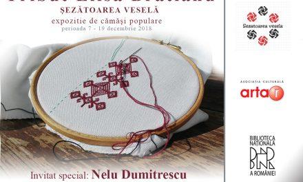 """Expoziția de cămăși populare """"Tribut Elisa Brătianu"""" @ Biblioteca Națională a României"""