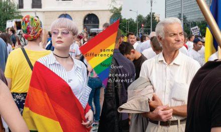 Noua carte de fotografie realizează o comparație frapantă între Marșul Pride și Mitingul Pro-Guvernamental din București, România