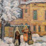 Iernile de altădată în pictura românească