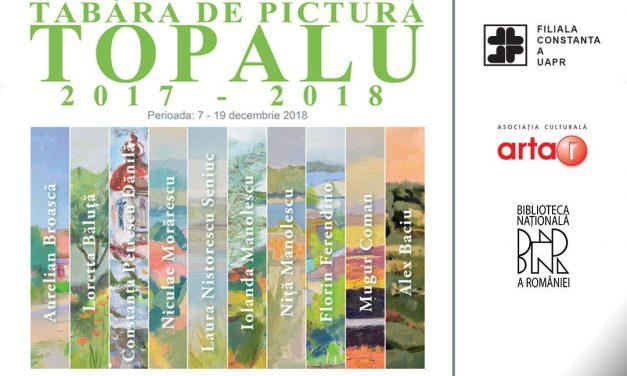 Expoziție de pictură – Tabăra de la Topalu @ Biblioteca Națională a României