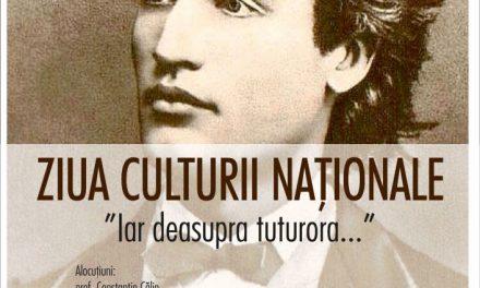 """Ziua Culturii Naţionale la Centrul de Cultură """"George Apostu"""" Bacău"""