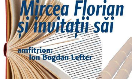 Mircea Florian, invitatii săi și tulnicele lor la Cafeneaua critică!