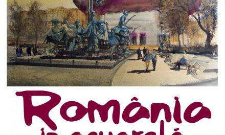 """Cei mai buni pictori acuareliști români, în expoziția """"ROMÂNIA ÎN ACUARELĂ"""" găzduită la Teatrul Național București"""