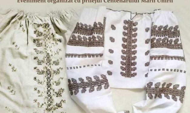 """Expoziția """"100 cămăși basarabene salvate de la dispariție"""" @ Muzeul Național de Etnografie și Istorie Naturală din Chișinău"""