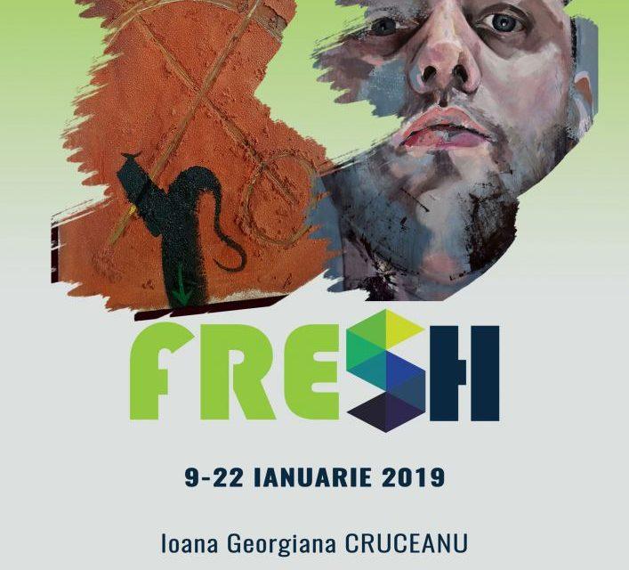 Expoziția #Fresh 2019: Georgiana Ioana Cruceanu și Cosmin Gabriel Joian @ Elite Art Gallery,București