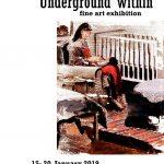 "Expoziție Mihaela Mihalache ""Underground within"" @ The Crypt Gallery (St Pancras), Londra"