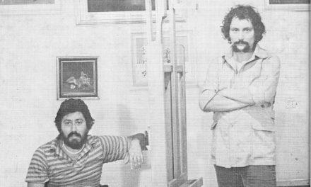 Serghei Niculescu-Mizil și Petre Velicu în 1982
