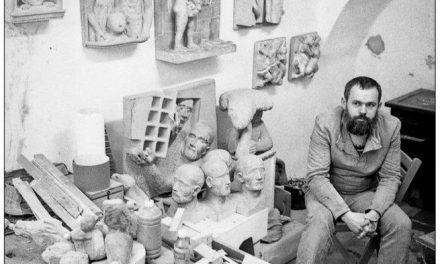 Atelierul lui Gheorghe Mureșan anii 80