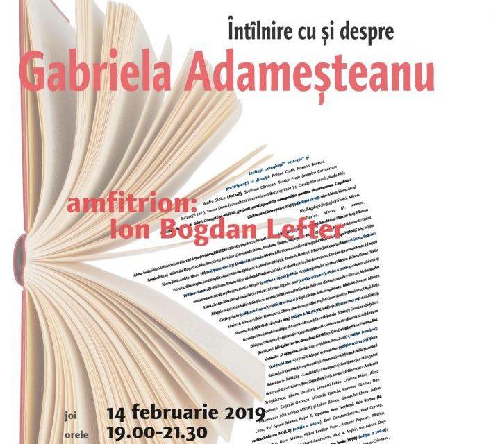 Gabriela Adameşteanu la Cafeneaua critică!