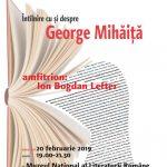 George Mihăiţă la Cafeneaua critică!
