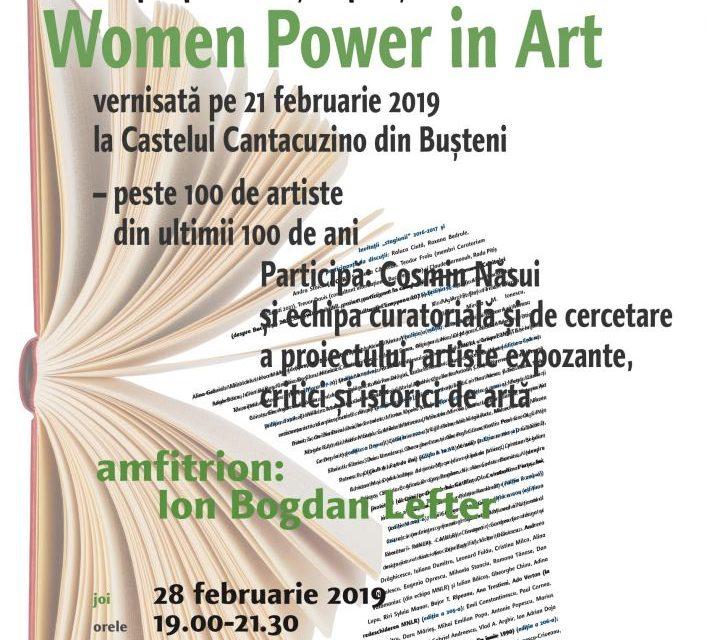 Despre femei-artiste la Cafeneaua critică!