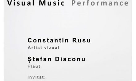 "Expoziție de artă ""Ekphrasis. Visual Music"" @ ETAJ – artist run space, București"