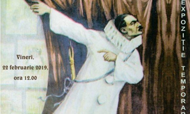 """Expoziţia """"Satiră, erudiţie şi subtilitate. Caricaturistul Nicolae Petrescu-Găină (1871-1931) @ Muzeul Judeţean de Istorie şi Arheologie Prahova, Ploieşti,"""