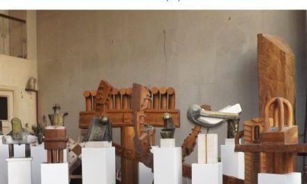 """Expoziţia de sculptură """"De la materie la spirit"""" a artistului Aurel Contraş @ Galeria Simeza, București"""