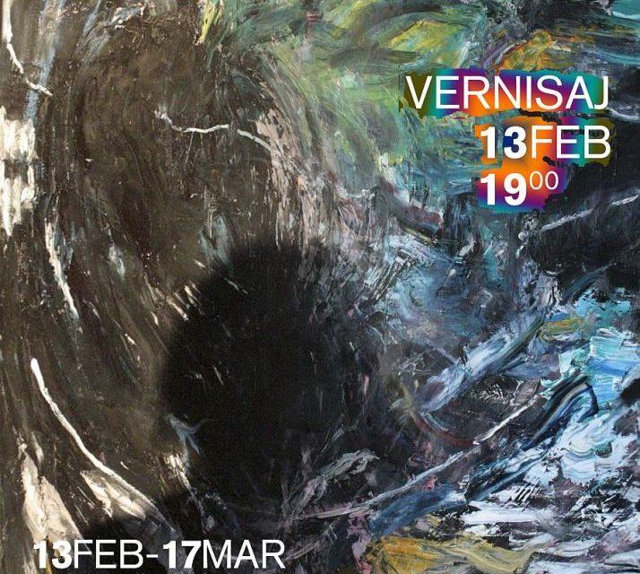 """Expoziție """"Jurnal de artist"""" Daniela Zbarcea @ Metropolis Art Gallery, București"""