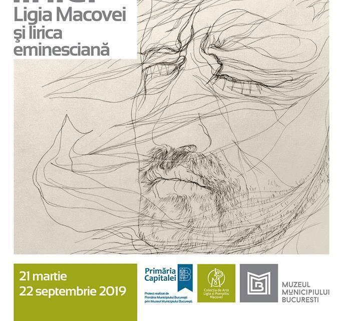 """Expoziție """"Magia liniei (Ligia Macovei și lirica eminesciană)"""" @ Muzeul de Artă """"Ligia şi Pompiliu Macovei"""", București"""
