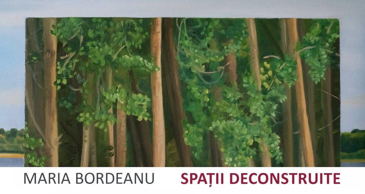"""Expoziție Maria Bordeanu """"Spații Deconstruite"""" @ Cărturești Carusel, București"""