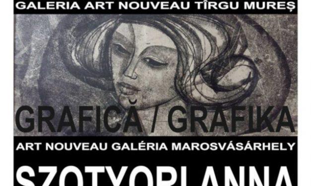 Expoziție de grafică Szottori Anna @ Galeria Art Nouveau, Târgu Mureș