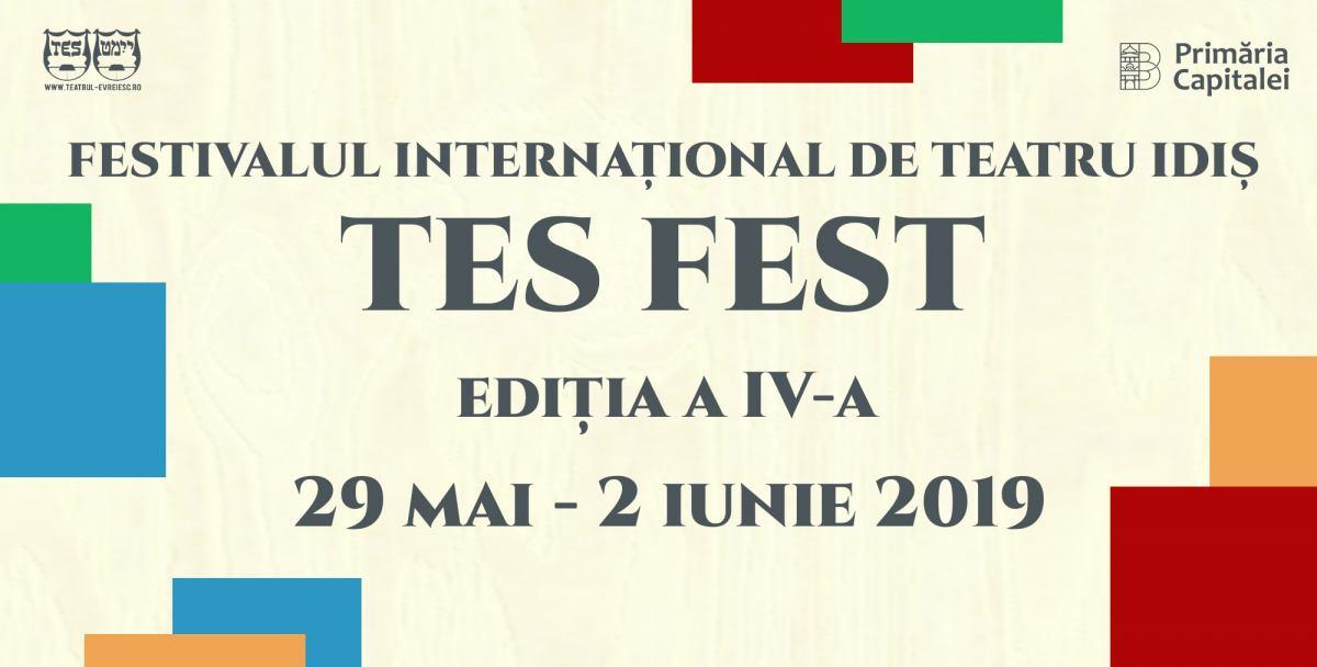 Festivalul Internațional de Teatru Idiș TES FEST, ediția a IV-a @ Teatrul Evreiesc de Stat