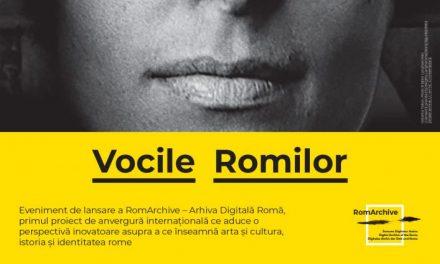 Lansare RomArchive – Arhiva Digitală Romă, colecția despre arta și cultura, istoria și identitatea rome