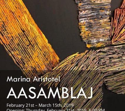 "Expoziție Marina Aristotel, ""AASAMBLAJ"" @ Galeria Estopia, București"