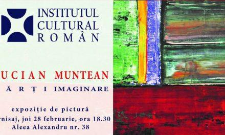 Lucian Muntean – Hărți imaginare @ Sediul ICR