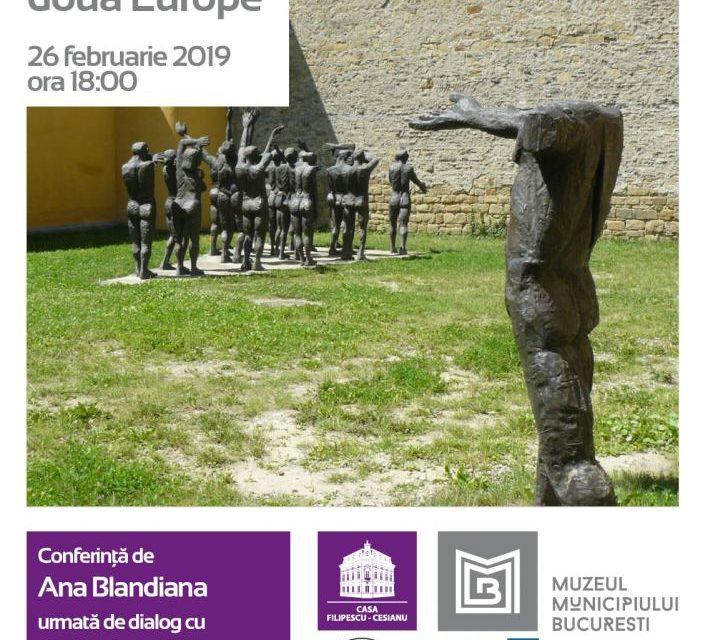 """Conferință de Ana Blandiana la Casa Filipescu-Cesianu – """"Un memorial intre doua Europe"""""""