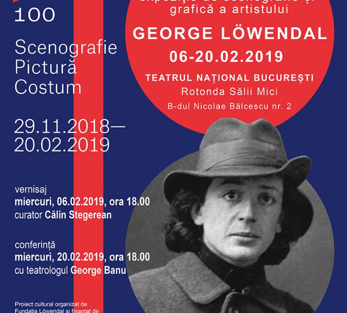 """""""Scena și tabloul"""" expoziție George Lowendal la TNB"""