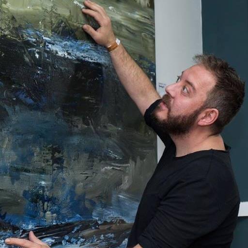 """""""În căutarea vieţii"""", prima expoziție personală a pictorului Bogdan Mihai Radu în Marea Britanie, se deschide la ICR Londra"""