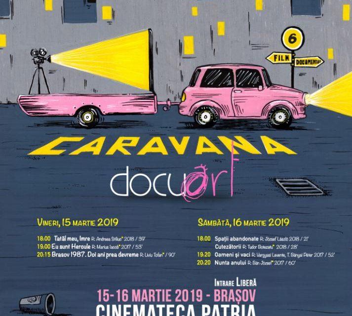 Documentare românești la Caravana Docuart @ Cinema Patria, Brașov