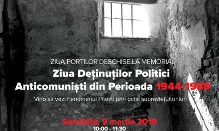 9 Martie-Ziua Deținuților Politici Anticomuniști @ Memorialul Închisoarea Pitești