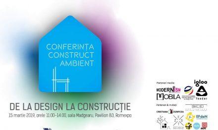 Conferința Construct-Ambient 2019 by Dizainăr și Revista Atelierul