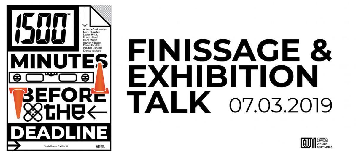 Artist talk: 1500 de minute înainte de deadline @ Centrul Artelor Vizuale Multimedia, București