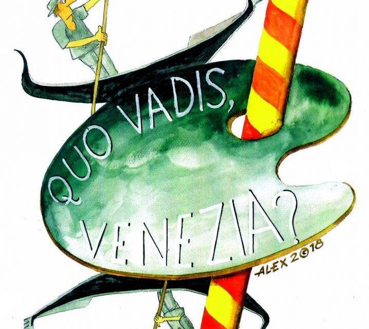 Expoziţia temporară de grafică şi desen Aurel Ştefan Alexandrescu «Quo vadis, Venezia?» @ Galeria Institutului Român de Cultură şi Cercetare Umanistică de la Veneţia