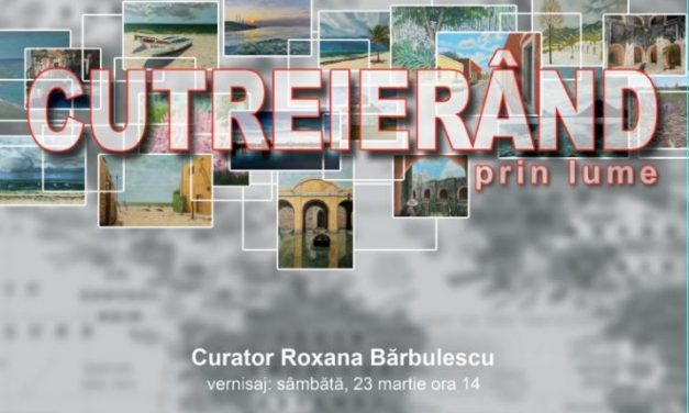 "Expoziție Livia Doina Stanciu ""Cutreierand prin lume"" @ Biblioteca Națională a României"