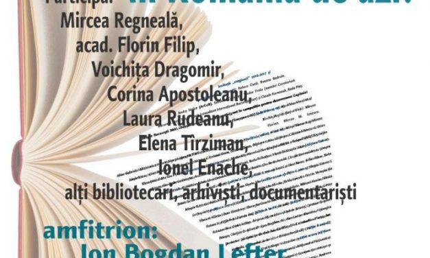 Despre biblioteci la Cafeneaua critică! @ MNLR-Creţulescu
