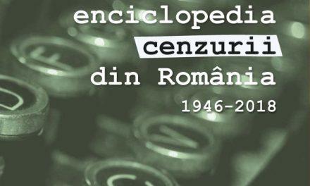 A apărut lucrarea Enciclopedia cenzurii din Romania, coordonator prof.univ.dr. Marian Petcu la Editura Ars Docendi, a Universității din București