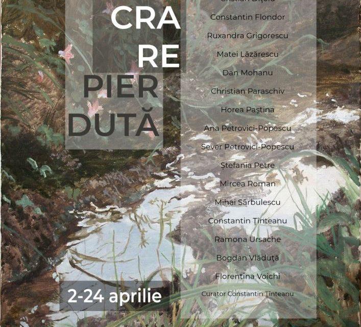 """Expoziție """"O lucrare pierdută"""" @ Elite Art Gallery, București"""