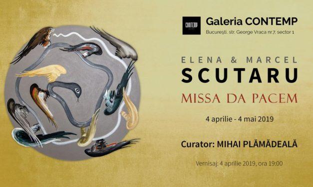 """Expoziție Elena & Marcel Scutaru """"Missa Da Pacem"""" @ Galeria Contemp, București"""