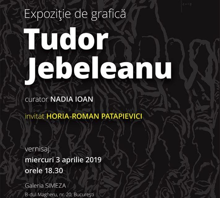 Expoziție de grafică Tudor Jebeleanu @ Galeria Simeza, București