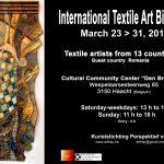 6 artiste textiliste la Bienala Internațională de Textile din Belgia