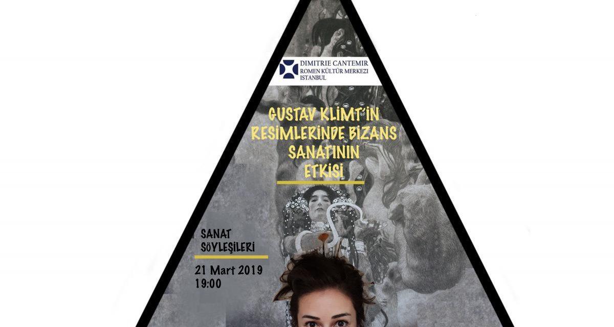 Influența artei bizantine asupra picturilor lui Gustav Klimt – prelegere la ICR Istanbul