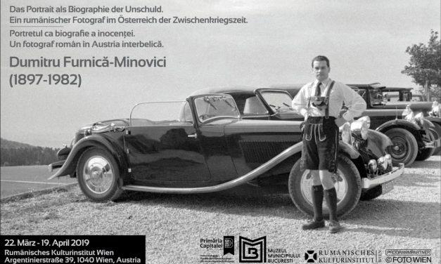 """Expoziția """"Portretul ca biografie a inocenței. Un fotograf român în Austria interbelică. Dumitru Furnică-Minovici (1897-1982)"""""""