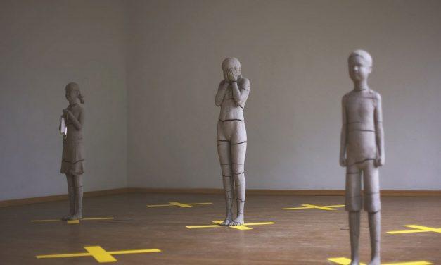 Dublă expoziție de sculptură poloneză la Galeria Casa Matei a Universității de Artă și Design din Cluj-Napoca